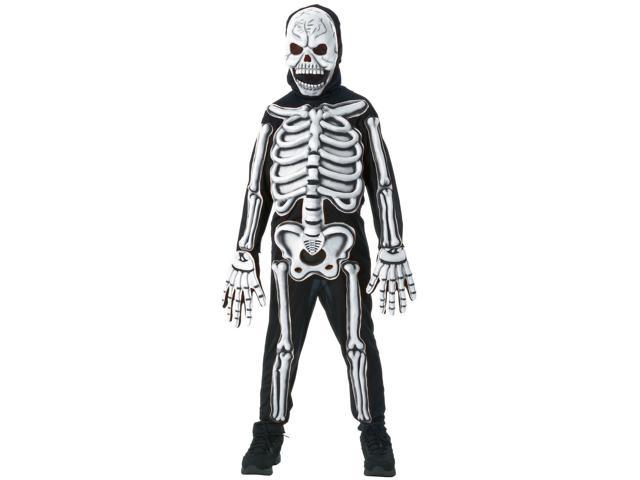 Kid's 3D Skeleton Costume