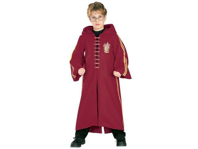 Kid's Harry Potter Deluxe Gryffindor Quidditch Robe Costume