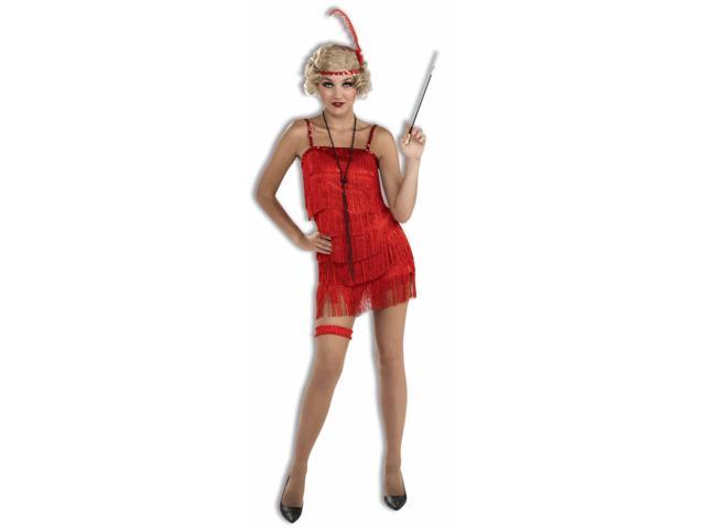 Red Sexy Women's Flapper Costume