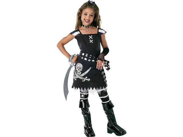 Girl's Pirate Scar-Let Costume