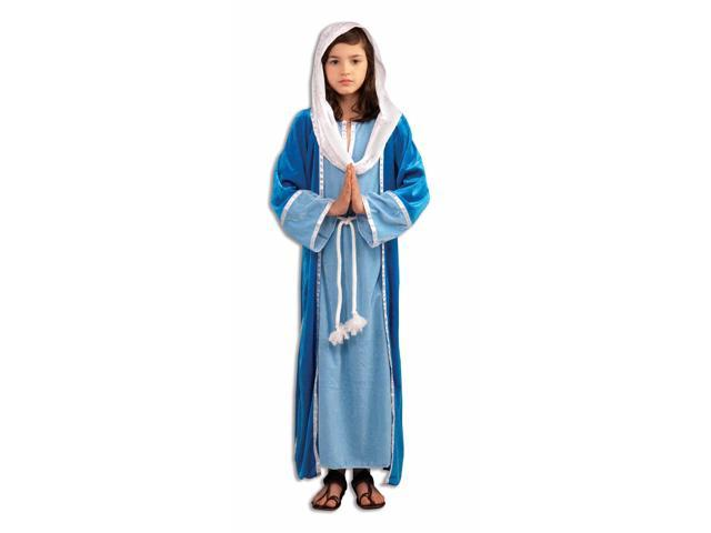 Mary Girl's Deluxe Costume