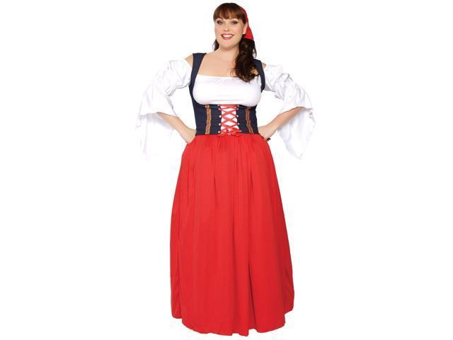 Swiss Miss Women's Sexy Plus Costume