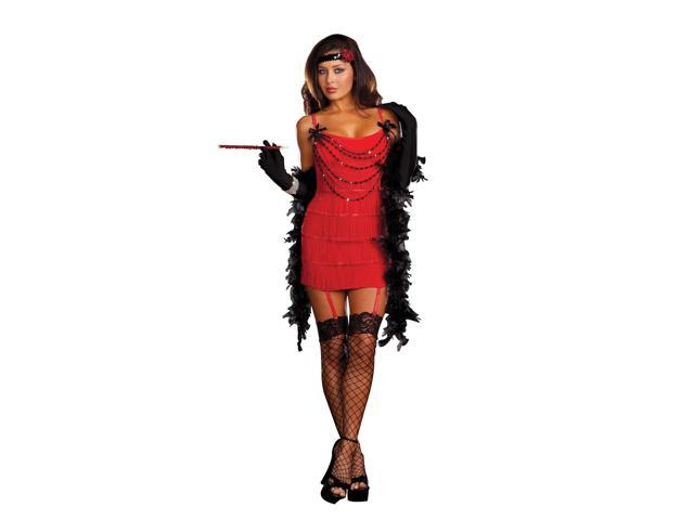 Red Hot Ruby Flapper Women's Sexy Costume