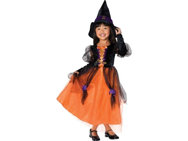 Girl's Pretty Witch Costume