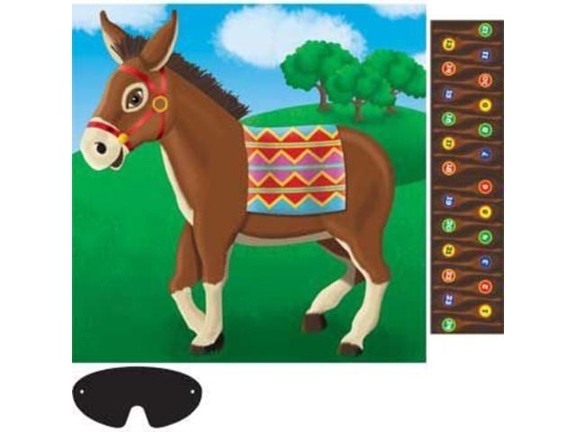 Pin The Tail On The Donkey Game-