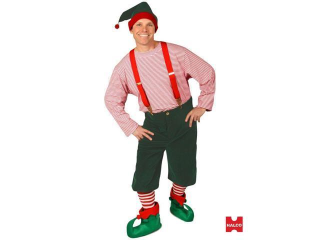 Large Workshop Elf Men's Costume