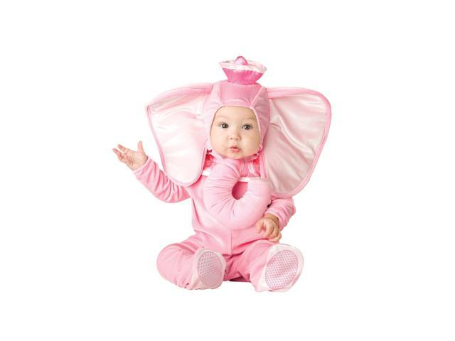 Pink Elephant Infant Toddler Costume