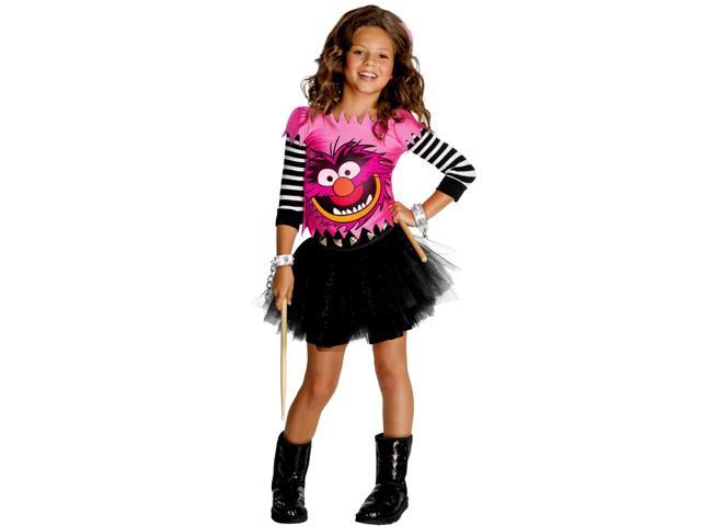 Girl's Muppet's Animal Costume