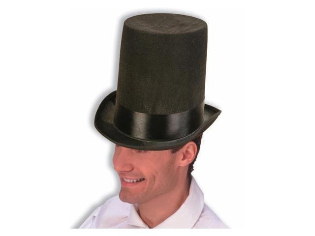 Patriotic President Abraham Lincoln Stove Pipe Adult Costume Hat