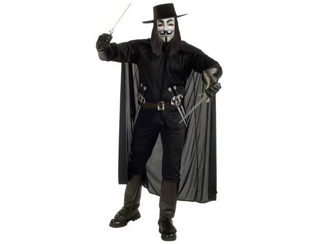 Men's Deluxe V for Vendetta Costume
