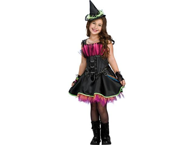 Rock Star Witch Costume for Girls