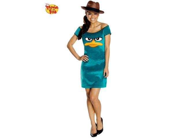 Phineas and Ferb's Sassy Agent P Costume - Teen