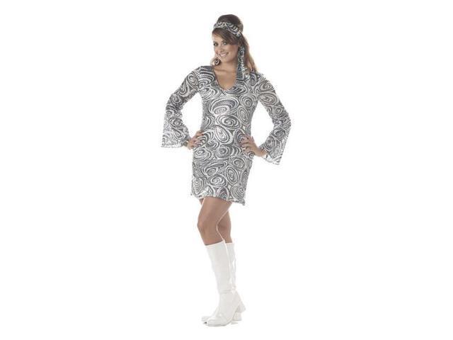 Disco Diva Plus Costume for Women