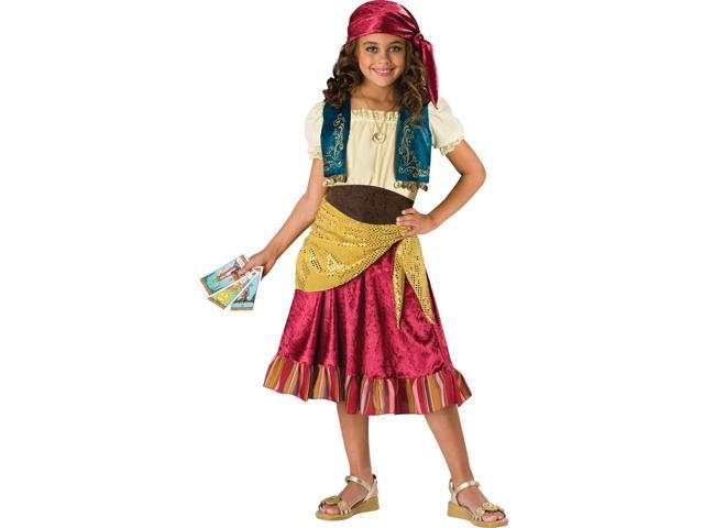Fortune Gypsy Girl's Costume
