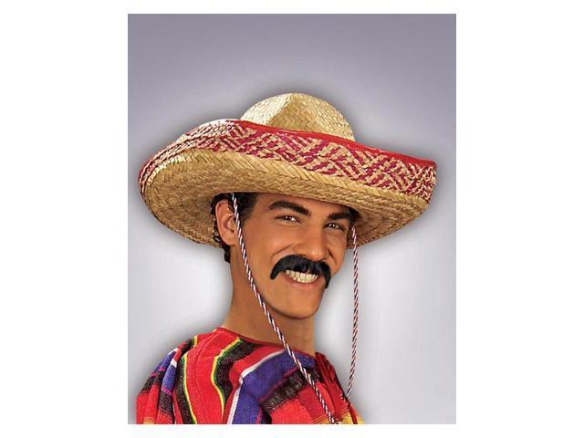 Adult Black Moustache