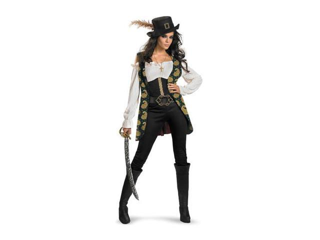 Angelica Women's Deluxe Pirates of the Caribbean Costume