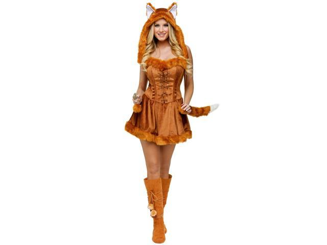 Sexy Foxy Lady Costume for Women