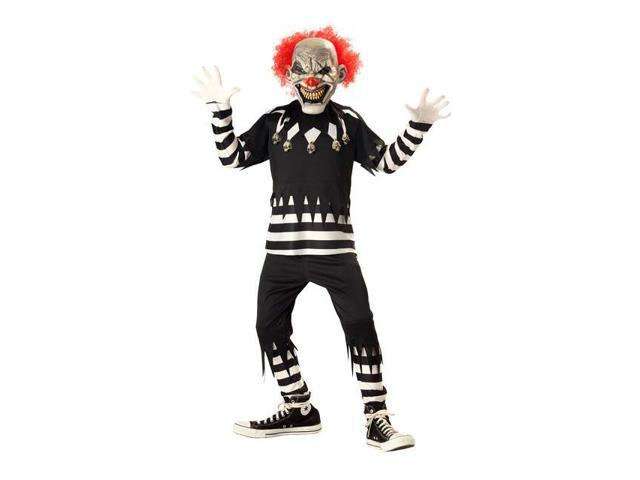 Psycho Clown Boys Costume