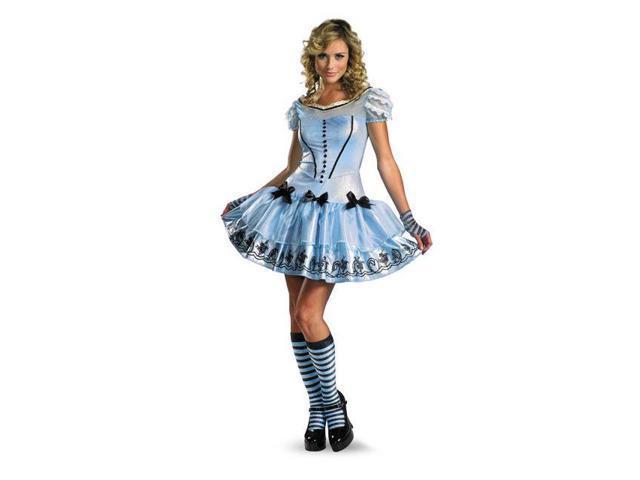 Sassy Alice in Wonderland Blue Disney Costume