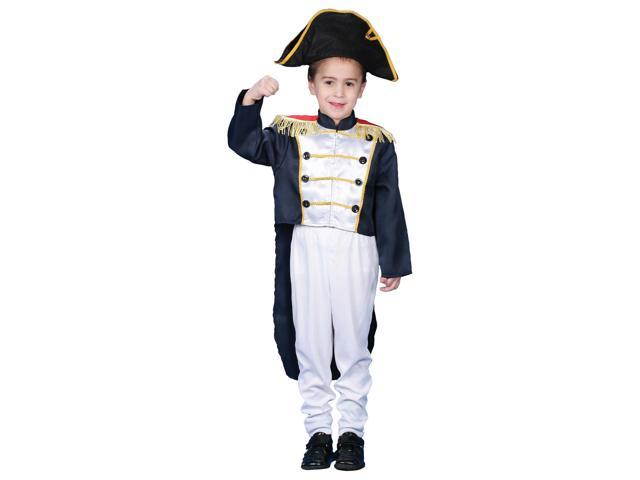 Children's Colonial General Costume Set