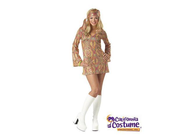 Adult Disco Dolly 70s Costume