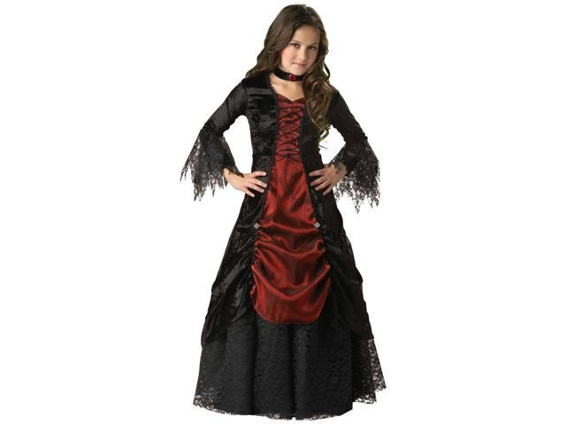 Gothic Vampiress Elite Girl's Costume