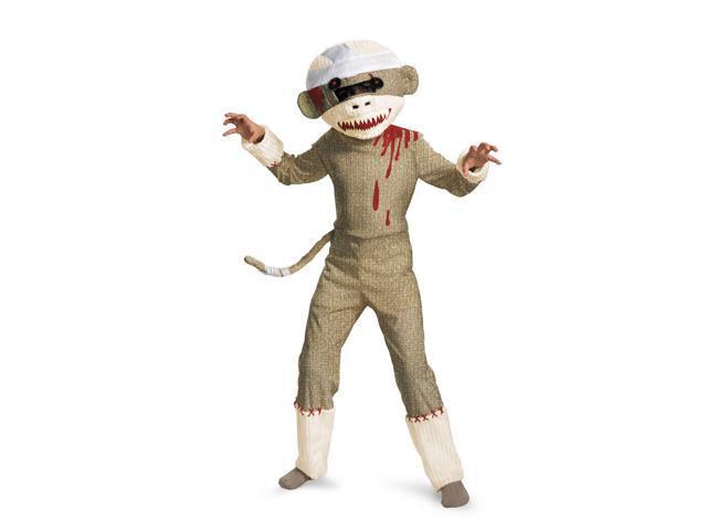 Sock Monkey Zombie Costume for Kids