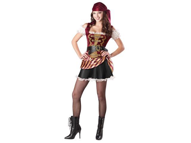 Teen Pirate Babe Girl's Costume