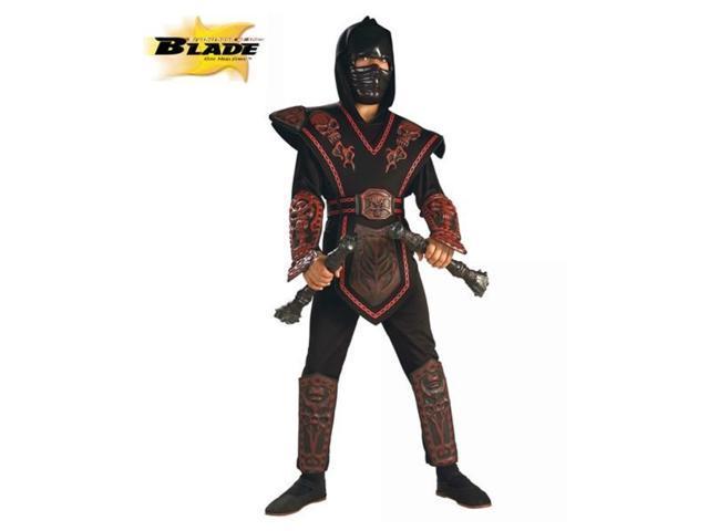Boy's Red Skull Ninja Warrior Costume