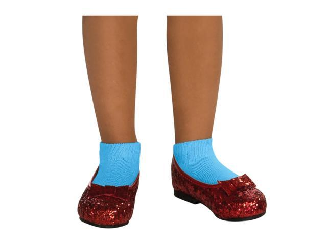 Ruby Red Glitter Shoes for Children - Small