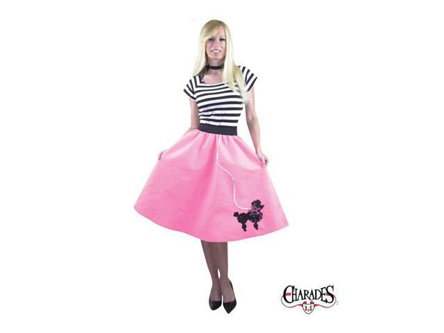 Adult Plus Pink Poodle Costume (skirt)