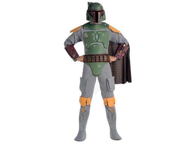 Men's Deluxe Boba Fett Star Wars Costume