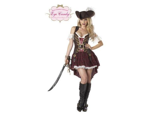 Sexy Womens Pirate Swashbuckler Costume
