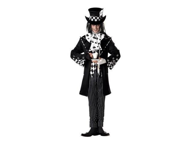 Dark Mad Hatter Men's Costume