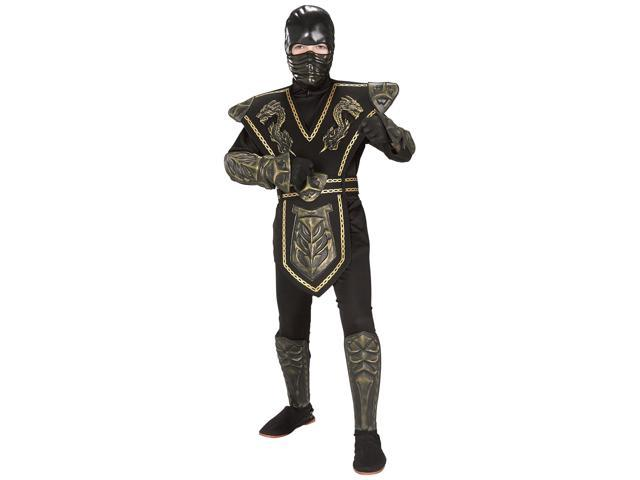 Boy's Dragon Ninja Warrior Costume