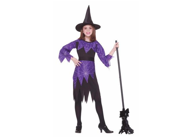 Spider Witch Child Costume Large