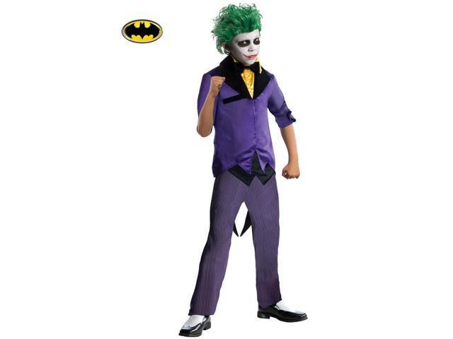 DC Comics Gotham Super Villains Joker Costume for Kids