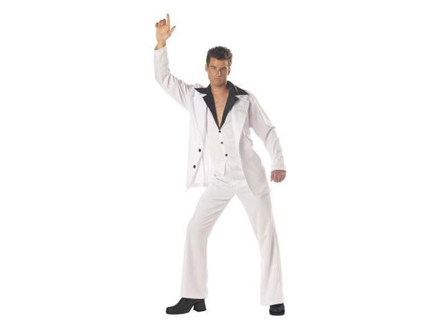 Men's Saturday Night Fever Disco Costume