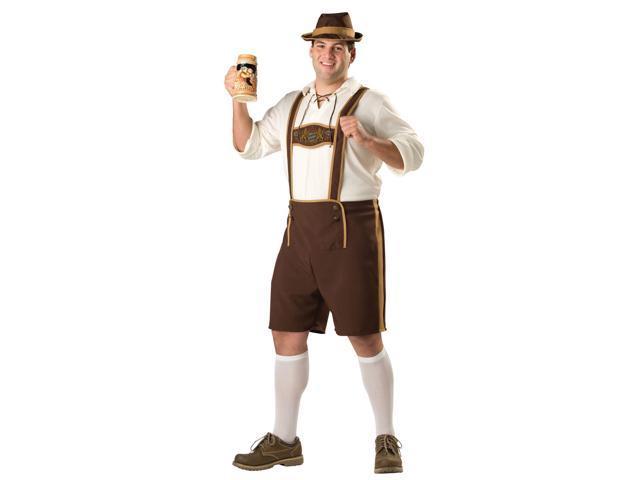 Bavarian Guy Plus Men's Costume