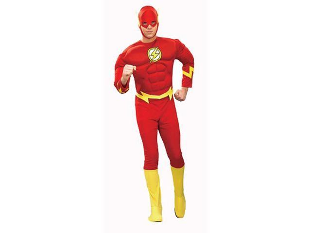 Men's The Flash Muscle Chest Costume