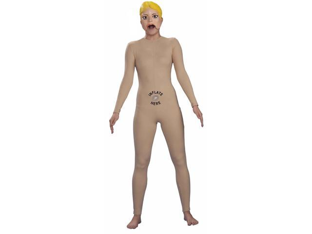 Inflatable Doll Women's Costume