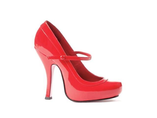 Red Patent Sexy Mary Jane Shoes