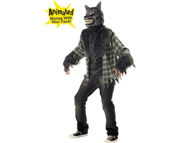 Full Moon Madness Men's Werewolf Costume