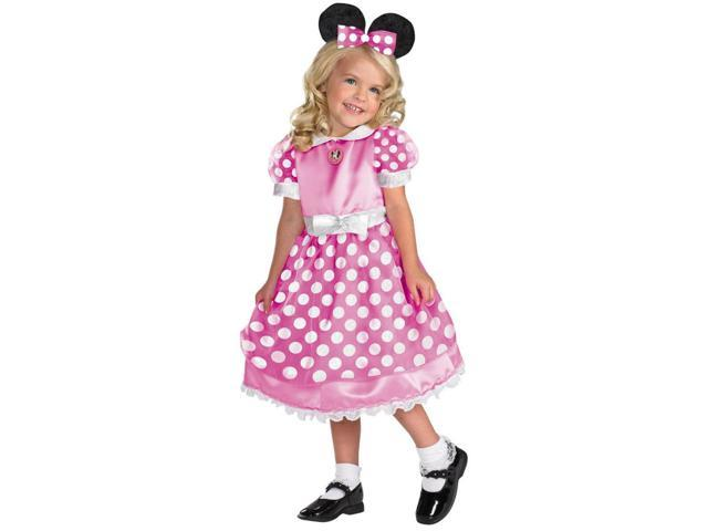 Pink Minnie Mouse Clubhouse Costume