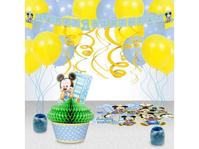 Mickeys 1st Birthday Decoration Kit - Party Supplies-Newegg.com