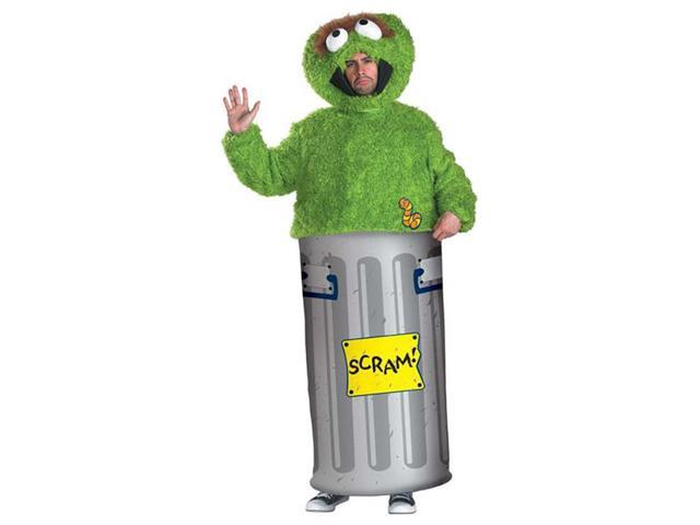 Oscar the Grouch Sesame Street Adult Costume