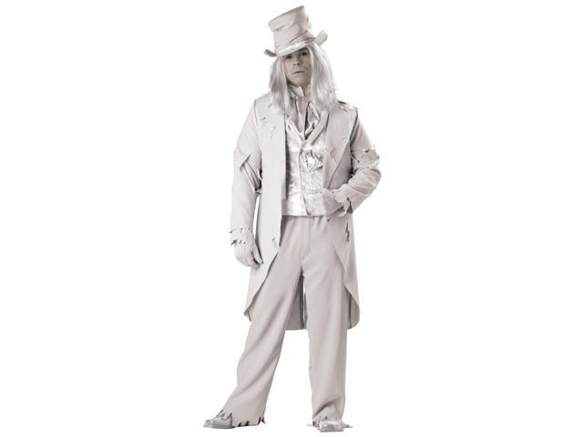 Ghostly Gent Elite Men's Plus Costume