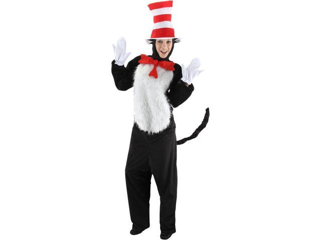 Deluxe Dr. Seuss Cat in the Hat Adult Costume