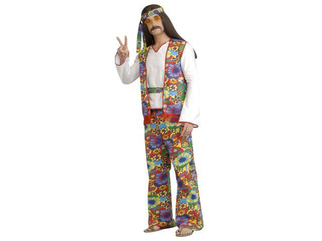 Adult Hippie Man Costume