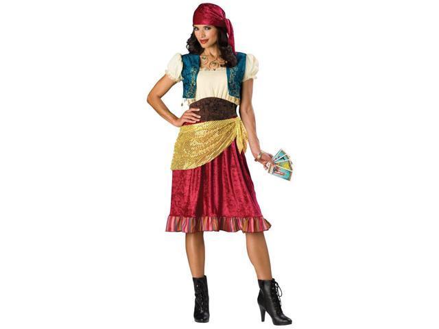 Fortune Gypsy Plus Women's Costume